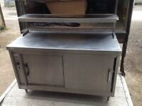Hot cupboard with gantry at top and tab grabber/bill holder (used)