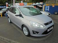 2011 61 FORD GRAND C-MAX 1.6 ECOBOOST TITANIUM TURBO IN SILVER # LOW MILEAGE #