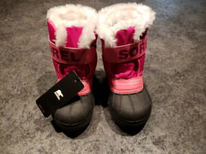 Toddler girls sorel new winter boots size 7
