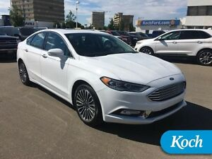 2017 Ford Fusion Titanium  Only 13000km, Heated/Cooled Leather,