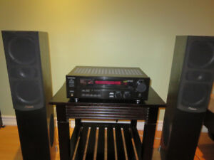 KENWOOD VR-616 receiver and Reference Audio Speakers