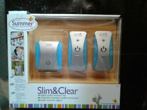 Baby Monitor, Summer Infant Slim & Clear