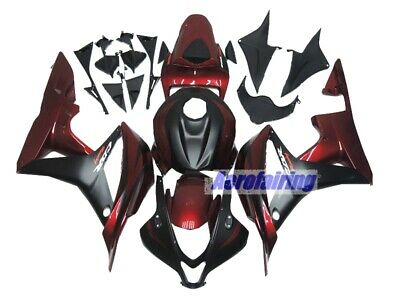 AF ABS Fairing Injection Body Kit Painted for Honda CBR 600RR 2007 2008 BW