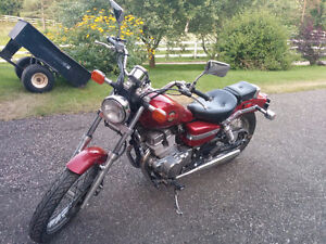 Honda Rebel 250 Red Great Starter Bike