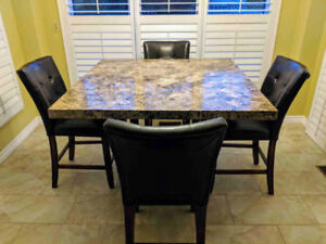 Bar-Height Kitchen Dining table set