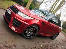 2013 51k Range Rover Sport 3.0 Sd AUTOBIOGRAPHY URBAN EVOLVED SVR PAN ROOF