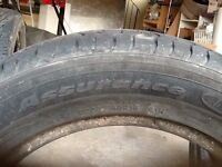 A pair of Goodyear P205/60 R16
