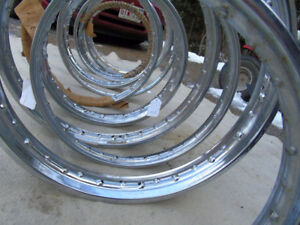 Antique NOS Motorcycle and Moped Rims from 1960's - 70's    for