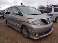 TOYOTA ALPHARD CAMPERVAN WITH REAR CONVERSION AND ELECTRICS