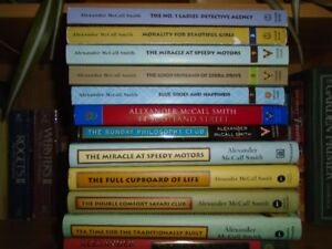 Collection of Alexander McCall Smith Novels