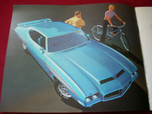 1971 GTO, LeMans Sport sales brochure Peterborough Peterborough Area image 2