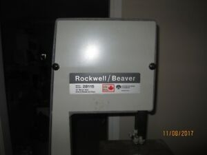 "Rockwell/Beaver 10"" Band Saw"