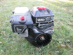 SNOWBLOWER MOTOR BLOWN (for parts) - B&S 1550