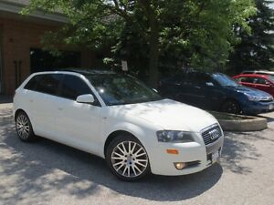 2006 Audi A3 / Panoramic Sunroof , LOW KM , CERTIFIED