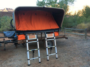 """Rooftop tent.  80"""" 4-5 person."""