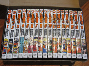 Naruto Anime Manga Vol. 1-28 (no 21) all in Great-New Condition