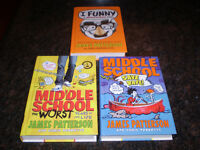 JAMES PATTERSON YOUTH BOOKS