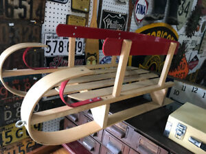 CHILD SLEIGH SLED RAILINGS MADE IN CANADA