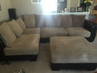 Micro fiber sectional for sale