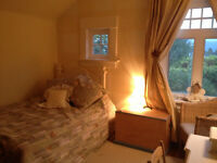 Beautiful bright room in lovely family home