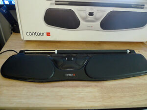 Contour RollerMouse Free2 Model: RM-FREE2-BLK w/ Wrist Pad
