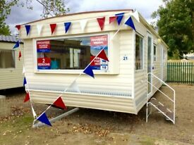 Cheap Starter Model static caravan FREE 2018 site fee's AT Seawick clacton essex suffolk kent london