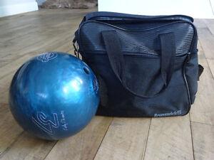 Boule de quilles pour femme avec sac de transport