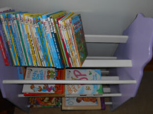Princess bookcase for girls room-disney theme