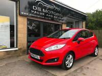 2015/65 Ford Fiesta ecoboost 1.0 Automatic powershift red petrol