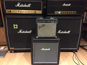 Marshall Haze 1x12 Cab and Fender Bullet Reverb Head West Island Greater Montréal image 2