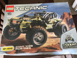 RARE LEGO TECHNIC 4X4  8466 NEW IN BOX WITH INSTRUCTIONS
