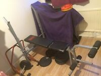 Weight Bench for sale £25 (weights NOT included)