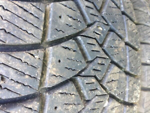 Winter Tires Like New-Good Year Ultra Grip 265/70R17