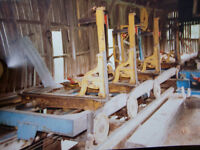 Complete oliver saw mill for sale