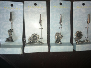 Assortment of In package Pewter Photoclips