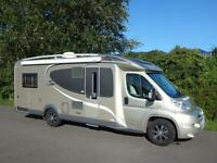Burstner SOLANO t729, 2013, 3 Berth, Fixed Single Beds, AUTOMATIC, AIR CON!