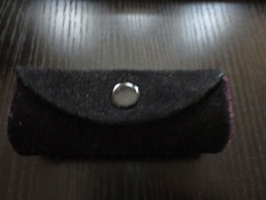 Brand new genuine leather black lipstick case with mirror London Ontario image 6