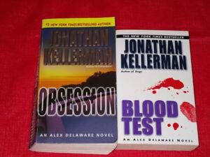 2x Jonathan Kellerman paperback novels
