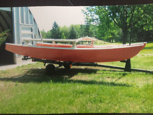 16 Foot Hobie Cat with trailer
