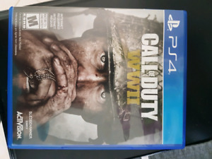 CoD WW2 for PS4 Mint