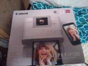 CANON SELPHY WIFI DIGITAL CELL PHONE PICTURE PRINTER