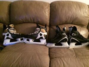 Ccm tacks and mission skates