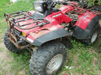 Parting Out 1986 Honda 350 4X4
