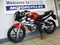 HONDA CBR 125 TRADE SALE RUNNING DAMAGED REPAIR PROJECT LOW MILES