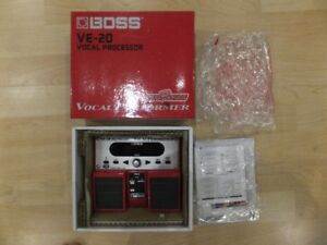 Boss VE-20 Vocal Processor and Meinl Chimes