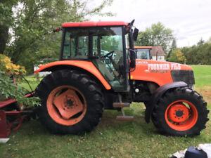 Tracteur Kubota M108X 2008