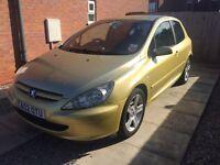 Peugeot 307 XSI 2.0L #12 MONTH MOT # £700 or nearest offer!