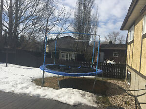 Trampoline with Net , 12 ft