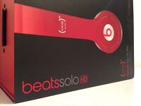 Brand New Red Beats Solo HD