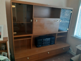 FREE - Display Unit with glass display cupboards and drawers.